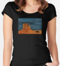 Monument Valley, Utah   Women's Fitted Scoop T-Shirt