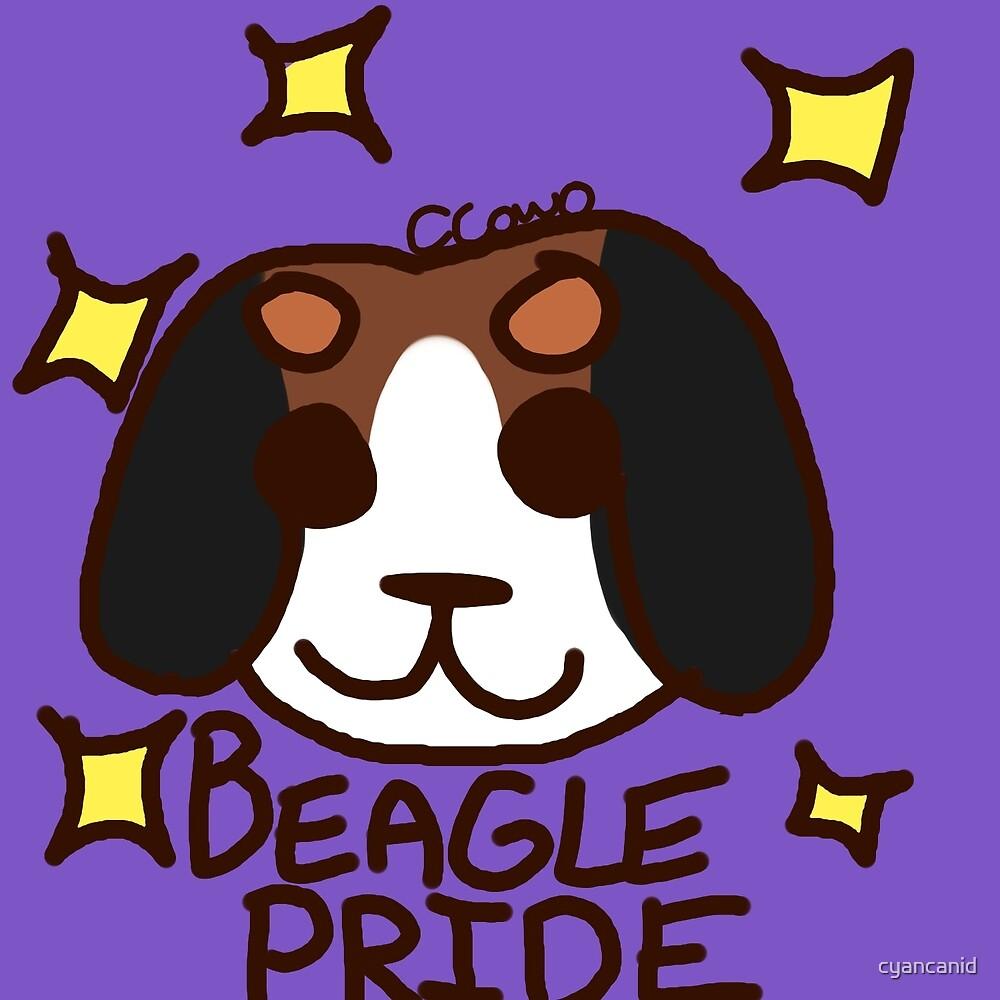 Beagle Pride by cyancanid
