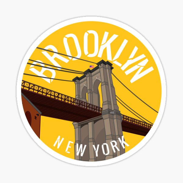 Brooklyn Bridge, Brooklyn Sticker