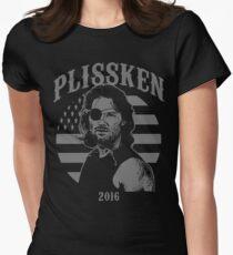 Plissken For President 2016 Women's Fitted T-Shirt