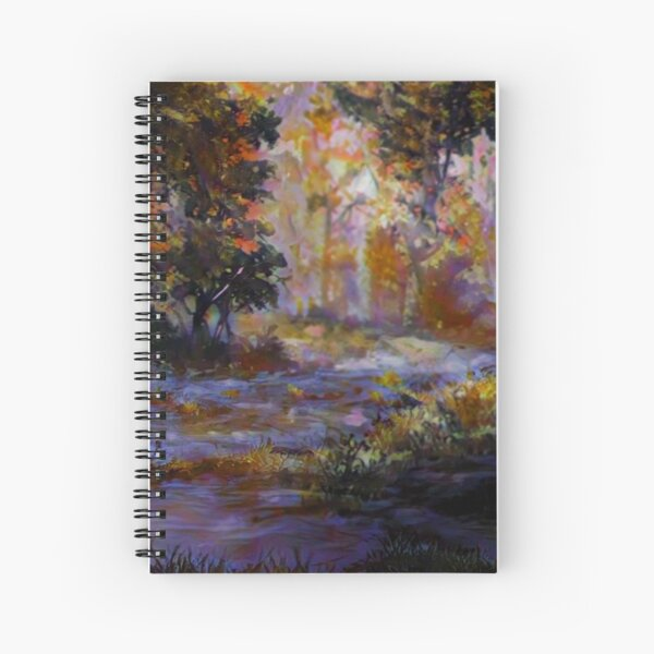 Early April Landscape Spiral Notebook
