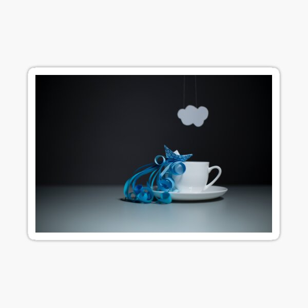 Storm in a teacup... Sticker