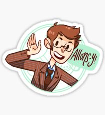 Another Allons-y! Sticker