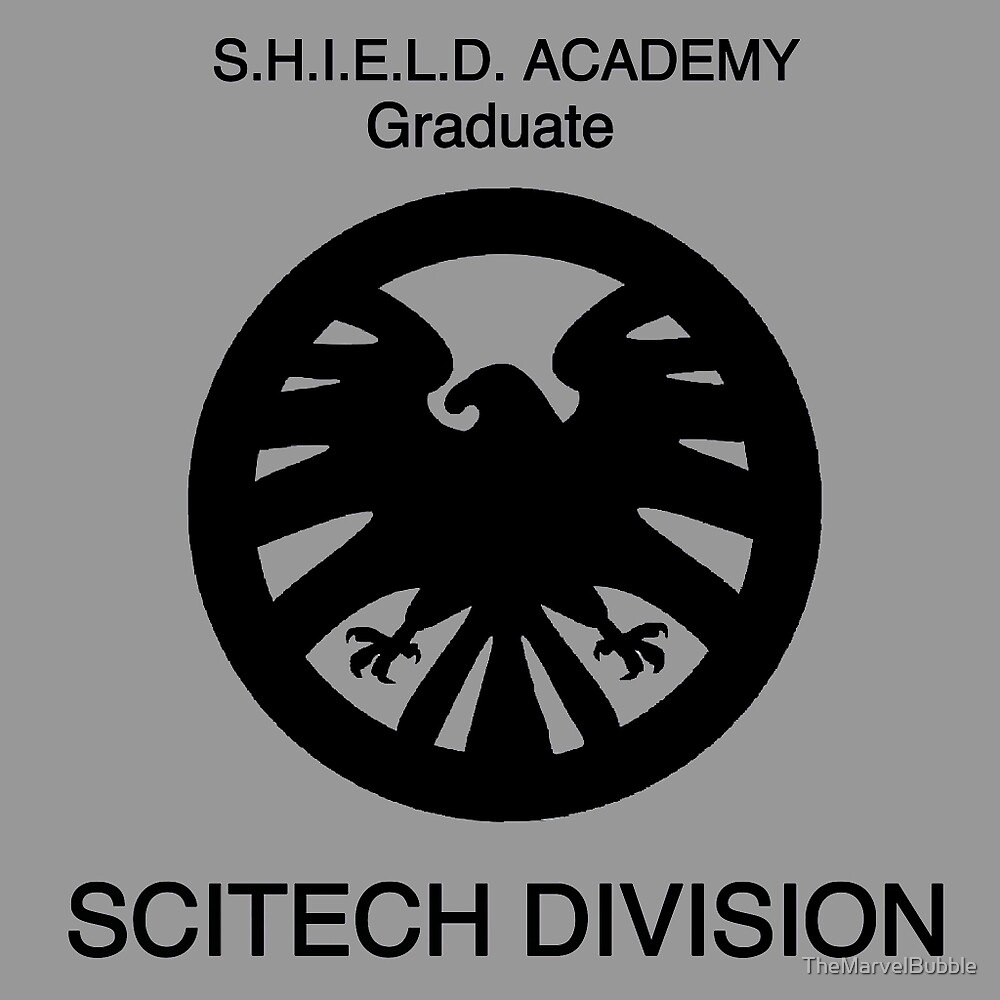 Shield academy graduate - scitech division  by TheNerdBubble