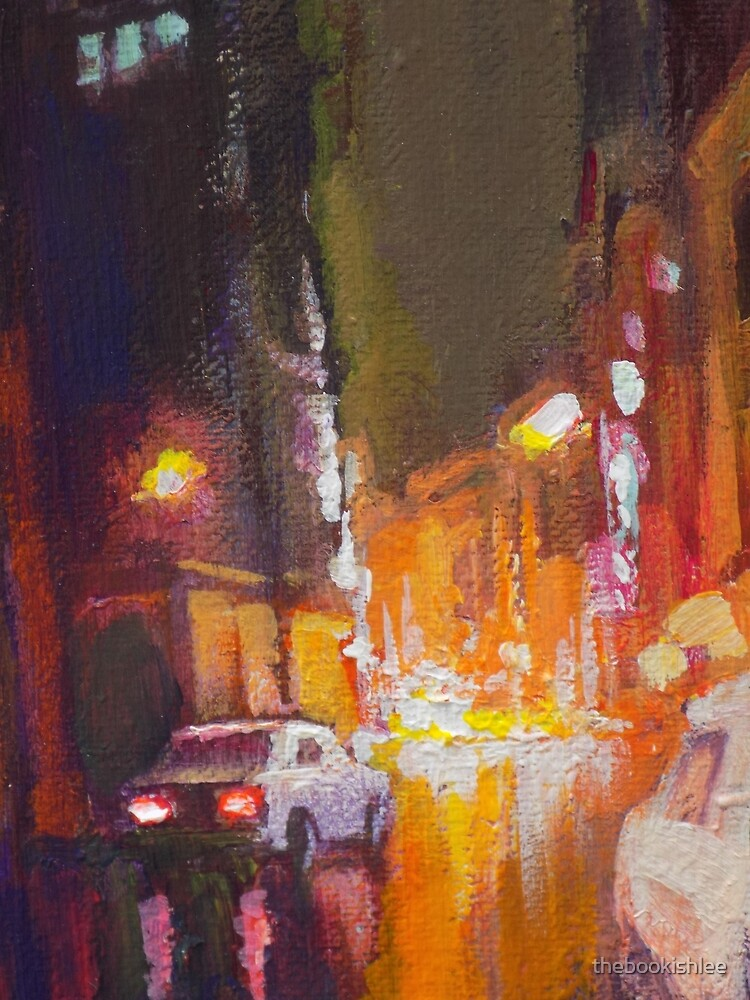 Dark Town Night by thebookishlee