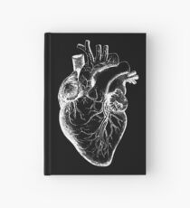 Cuaderno de tapa dura Anatomía de la vendimia: corazón anatómico