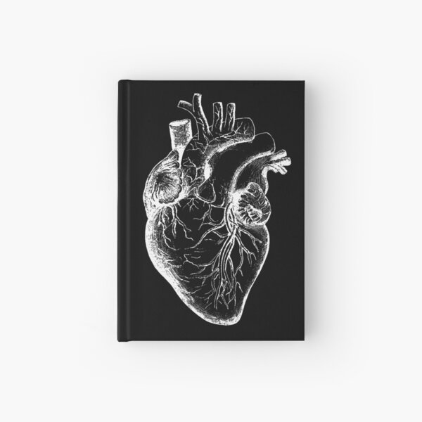 Vintage Anatomy: Anatomical Heart Hardcover Journal