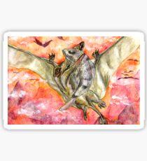 Victorious Pterosaur Sticker