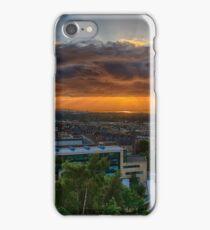 Edinburgh Sunset from Calton Hill iPhone Case/Skin