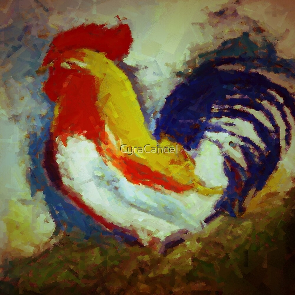 ROOSTER 1 by CyraCancel