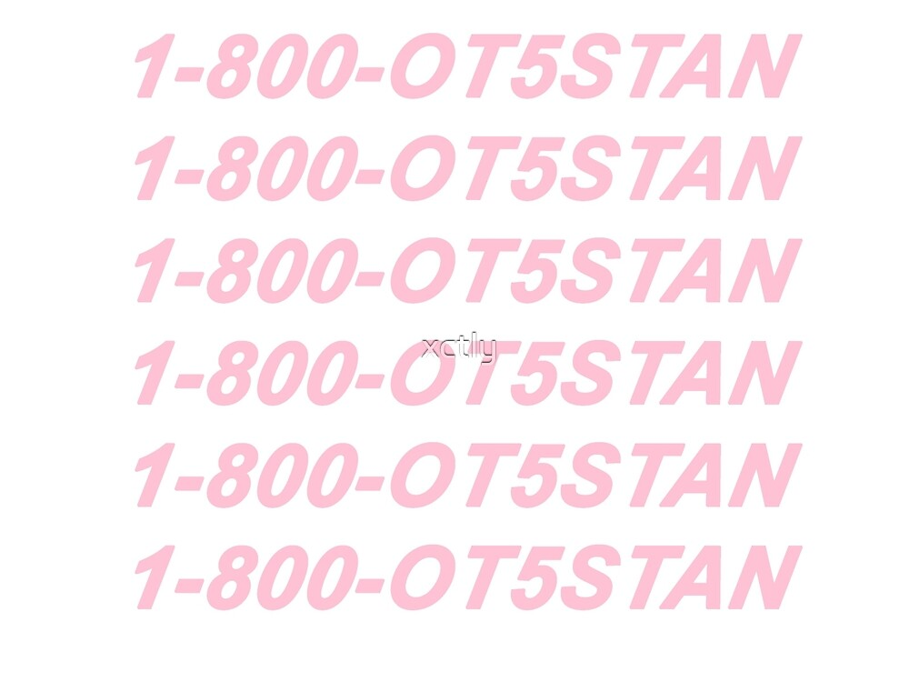 FIFTH HARMONY - OT5 STAN - HOTLINE BLING INSPIRED - PINK by xctly