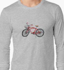 Vintage Pedal Power Long Sleeve T-Shirt