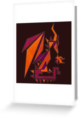 Geometric Dragon by Gulreth