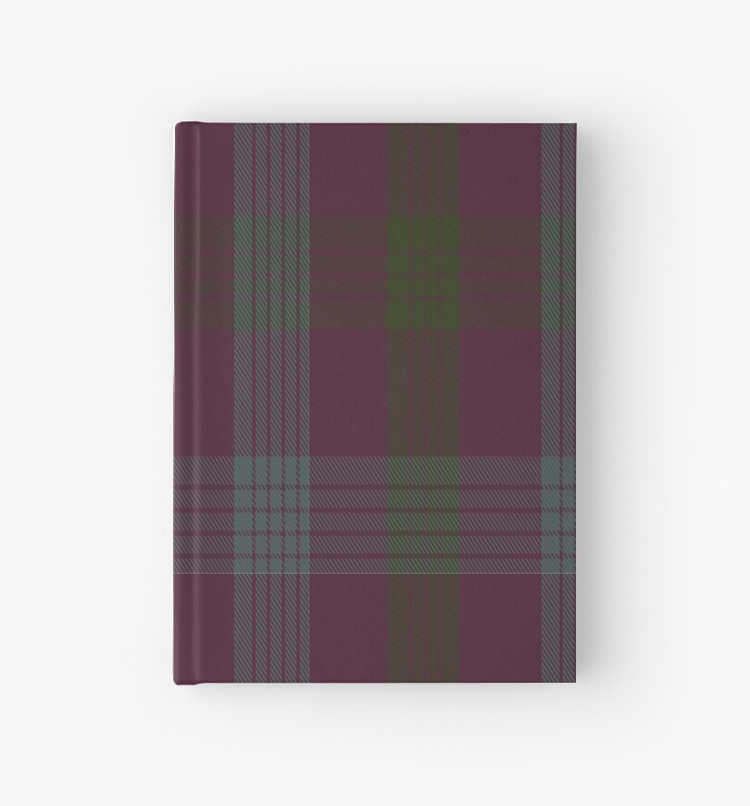 01258 Pinecone Purple Fashion Tartan  by Detnecs2013