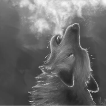 Howling Wolf by MinikinQP