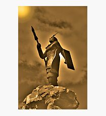 Inca King Huayna Capac Appeals To The Sun God Photographic Print