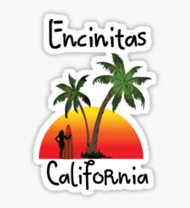 Encinitas California Sticker
