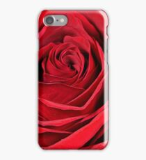 Red Rose - Macro iPhone Case/Skin