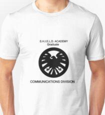 Shield academy graduate - communications division  T-Shirt