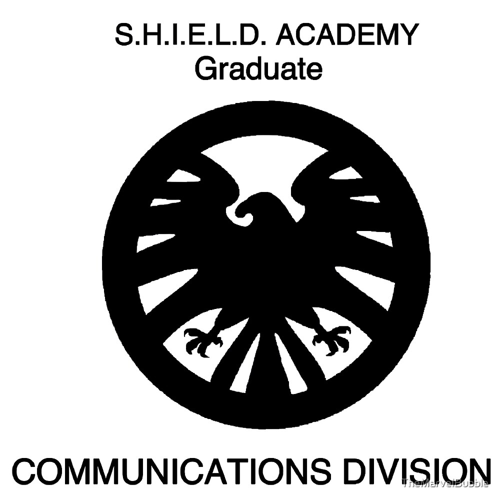 Shield academy graduate - communications division  by TheNerdBubble