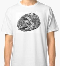Diogenes surreal pen ink black and white drawing Classic T-Shirt