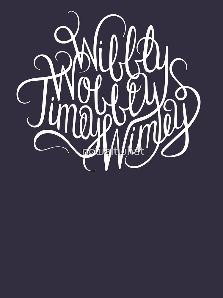 Wibbly Wobbly White | Unisex T-Shirt