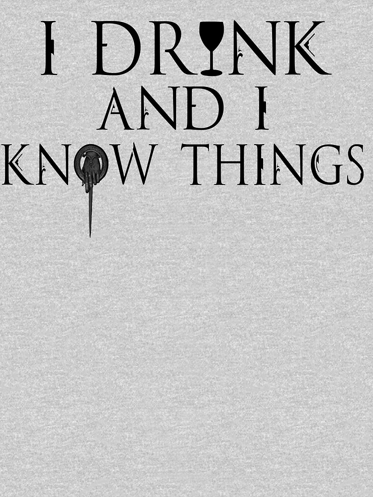 I Know Things | Unisex T-Shirt