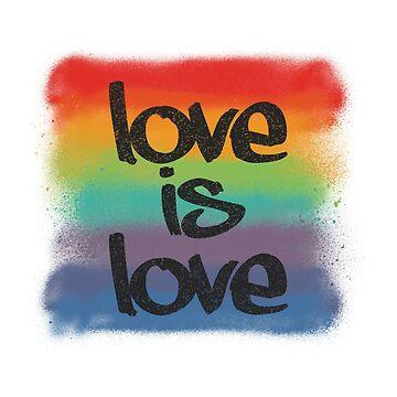 Love is Love by sewqueerdesigns