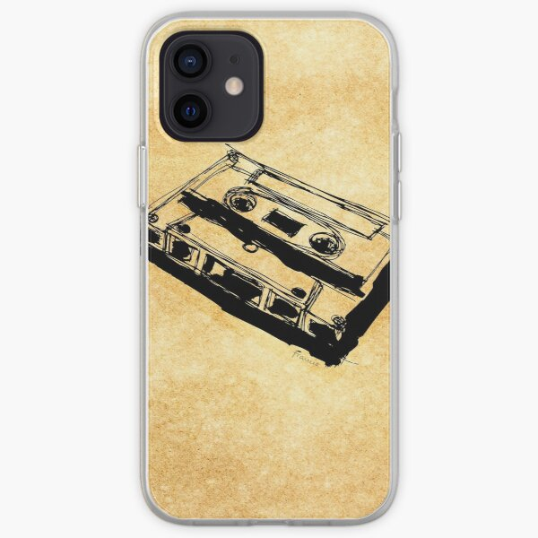 Retro Cassette Tape iPhone Soft Case