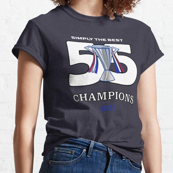 Rangers 55 Champions  Classic T-Shirt