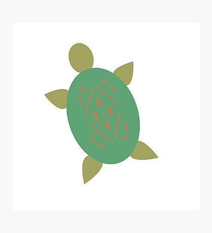 Turtley Awesome  Photographic Print