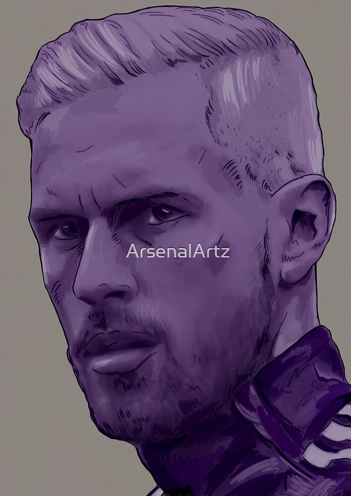 Aaron Ramsey - Cymru Am Byth by ArsenalArtz
