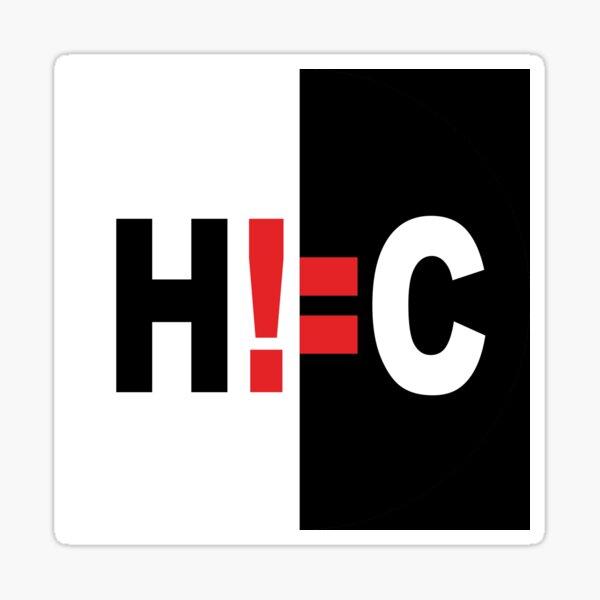 H!=C Sticker