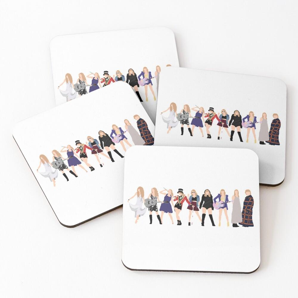 TSwift Era's Coasters (Set of 4)