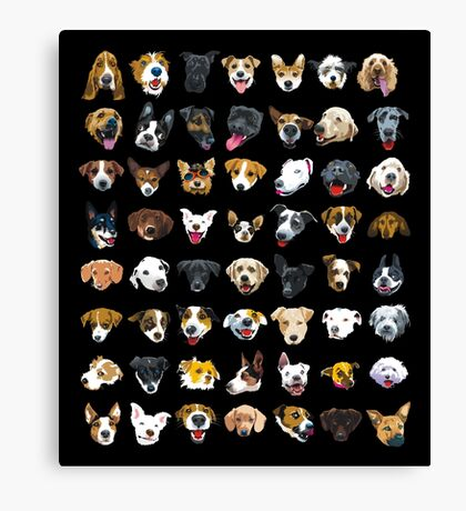pooches Canvas Print