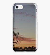 Bush Sunset iPhone Case/Skin