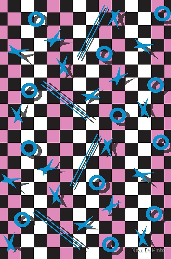 80s Pattern 1 Design (large file) by Neal DePinto