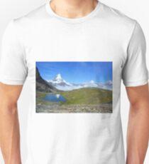 Riffelsee in Zermatt, Kanton Wallis, Schweiz T-Shirt