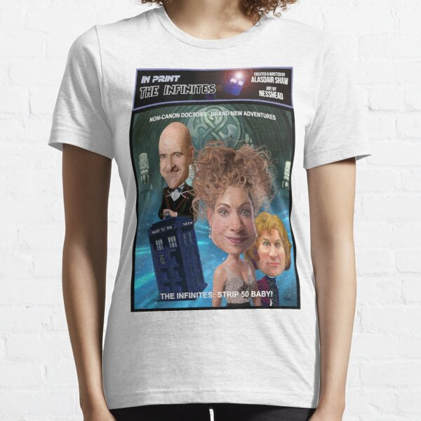 THE INFINITES Strip 50 Essential T-Shirt