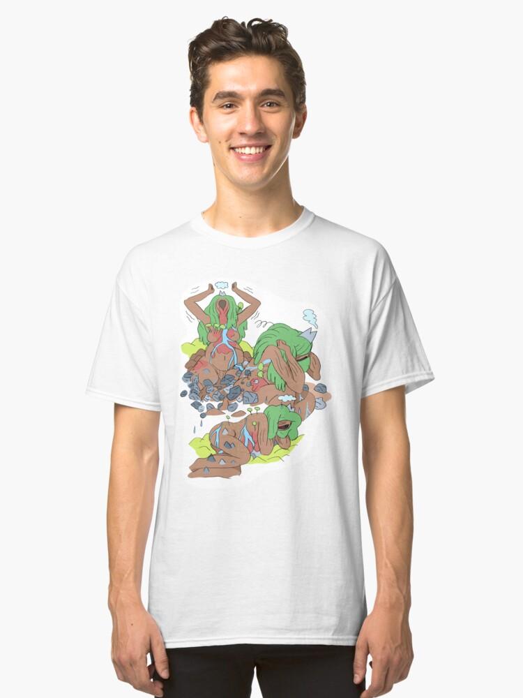La géante Eda Classic T-Shirt Front