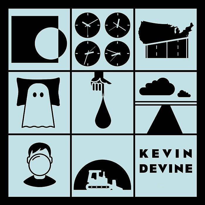 Kevin Devine Albums (Live @ St Pancras Old Church Design) by aaronjones