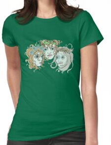 Maiden Mother Crone Womens Fitted T-Shirt