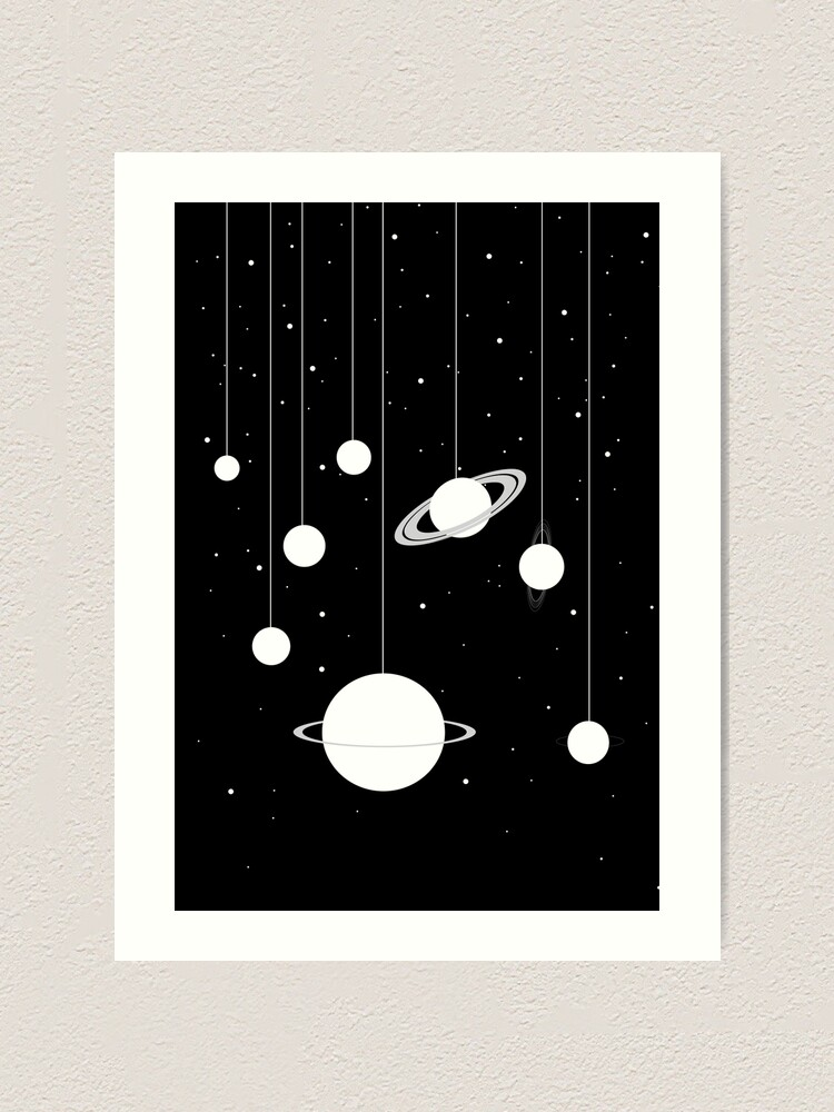 Alternate view of Planets Art Print