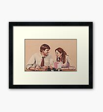 Best Dundies Ever (background free) Framed Print