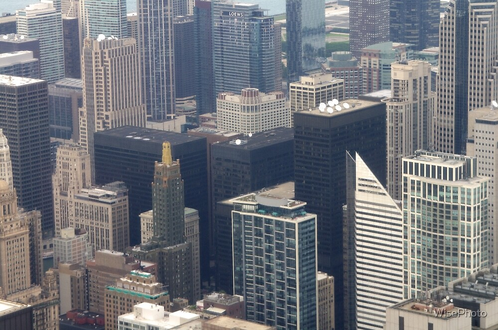 Skyscrapers of Chicago by WisePhoto