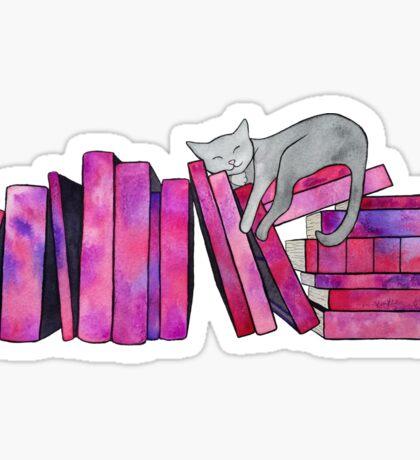 Literary Naps Sticker