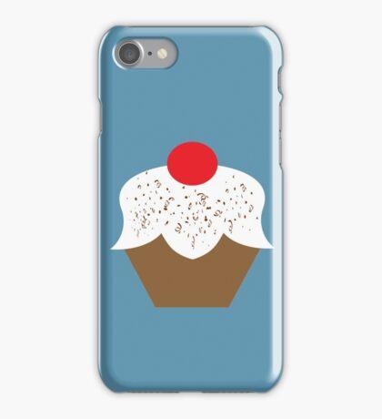 Chocolate Sprinkles Cupcake iPhone Case/Skin