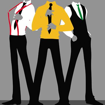 Team Lads, Formal Silhouettes by aiema