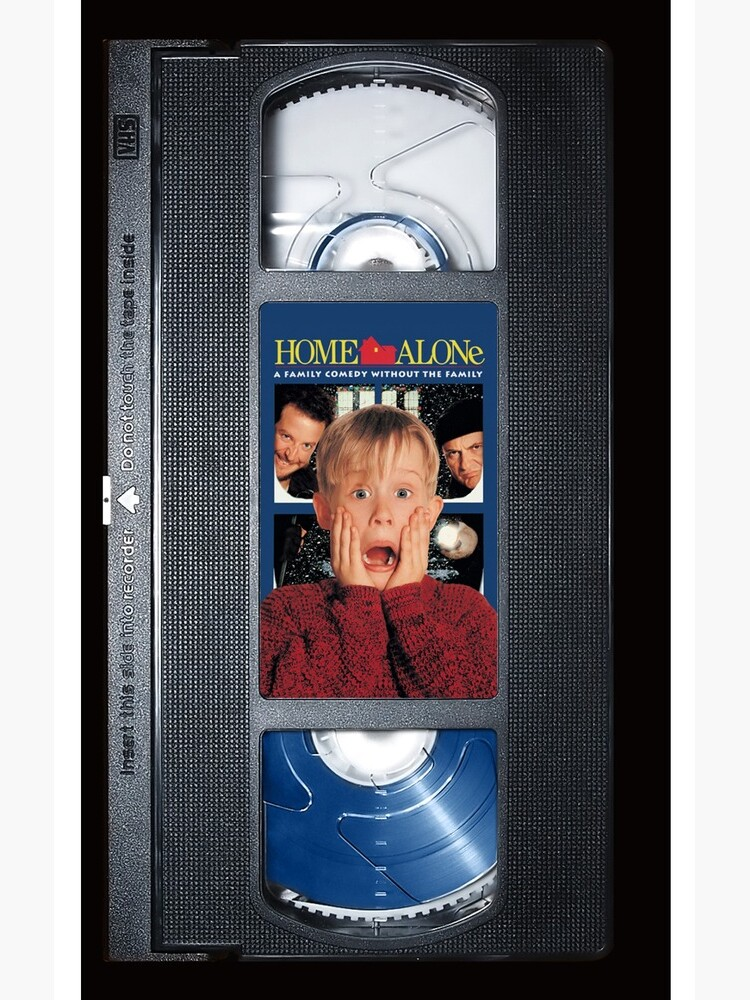Home Alone vhs iphone-case by Abricotti