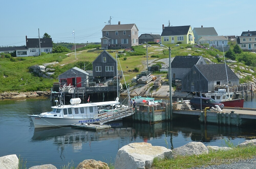Peggy's Cove again by Margaret Shark